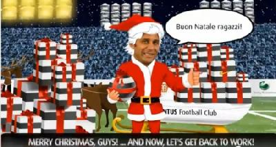 Juventus Buon Natale.Buon Natale Dalla Juventus Juve News Notizie Sulla Juventus