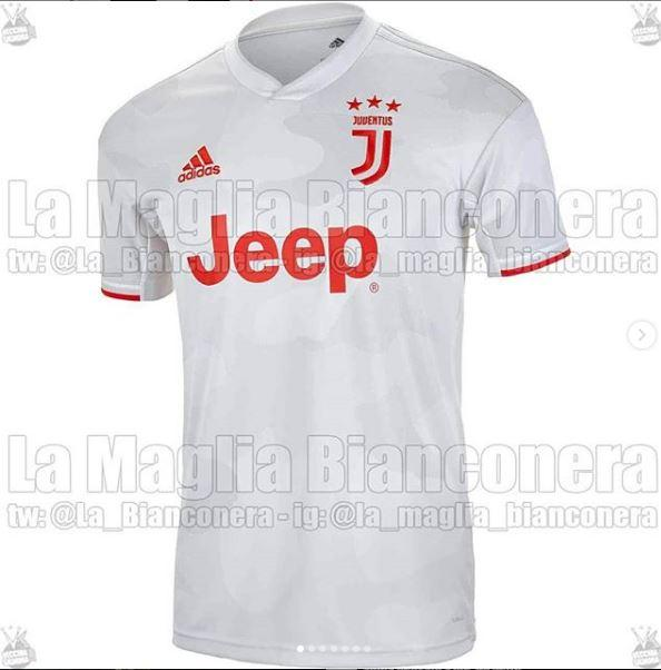 Seconda maglia Juventus sarà biancorossa - Juve News - Notizie ...